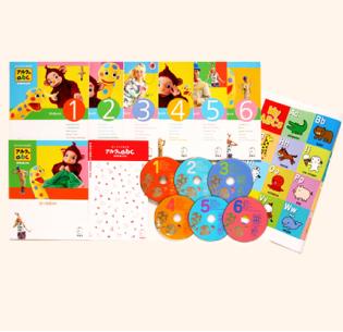 アルクのabc DVDボックス・幼児英語教材